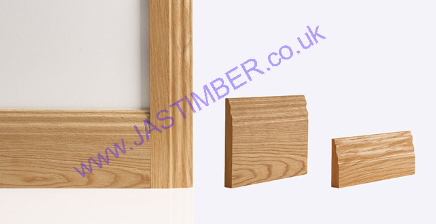 Deanta Oak Traditional Door Frame Skirtings & Architraves
