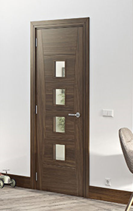 Deanta Walnut Doors @ JAS