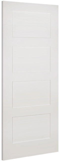 Coventry Door: 4-Panel White Primed 35mm Internal - Deanta Doors®