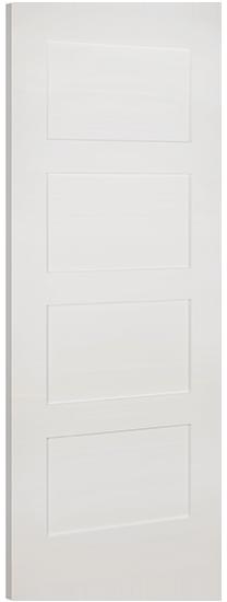 Coventry 4-Panel White Primed Door ...  sc 1 st  JAS Timber & Deanta Coventry White-Primed Door pezcame.com