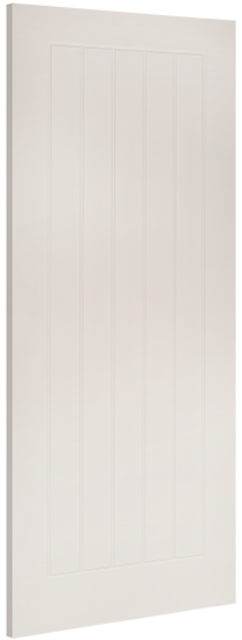ELY FIRE DOOR: FD30 T&G White Primed 45mm Internal Fire Door - Deanta Doors