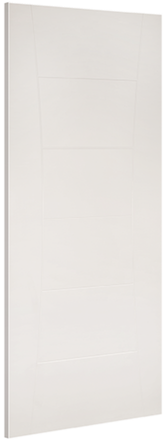 Pamplona Flush White Primed Internal Door