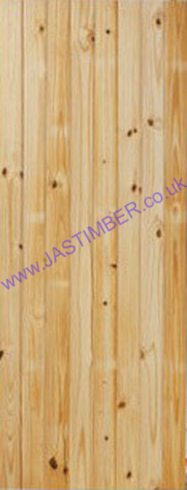 BB T&G BOARDED DOOR: T&G Boarded Knotty Pine 35mm Internal Door - JB Kind Doors