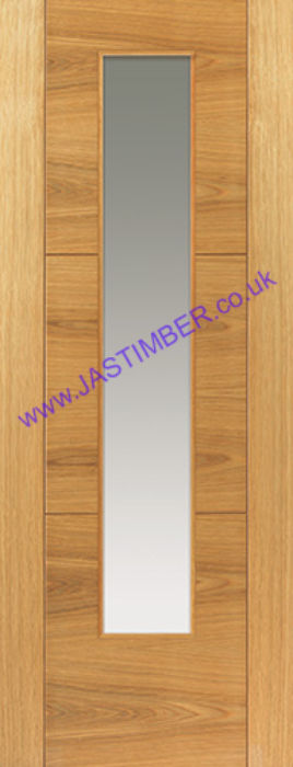 Mistral Glazed Oak Door - JBK