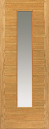 Ostria Glazed Oak Door