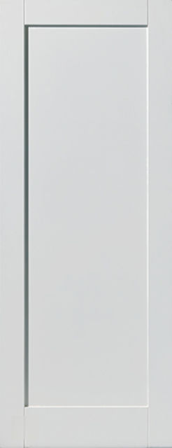ANTIGUA DOOR: 1-Panel White Primed 35mm Internal Door - JB Kind Calypso Doors