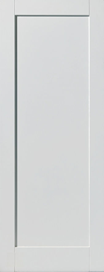 Antigua 1-Panel White Primed Internal Door