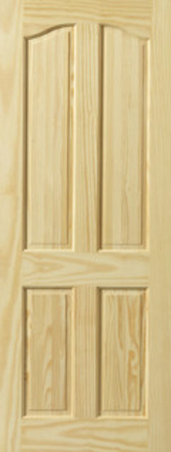 SWANSEA DOOR: 4-Panel Clear Pine 35mm Internal Door - JB Kind Doors