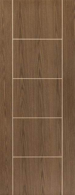 Mocha Fire Door: FD30 Flush Walnut 44mm Internal Pre-Finished Fire Door - JB Kind Painted Finish Fire Doors