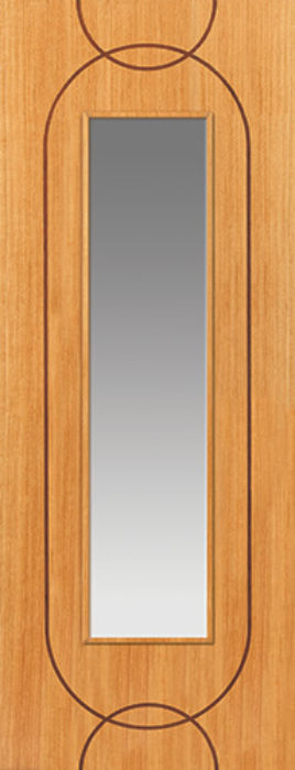 Agua Glazed Oak Internal Door