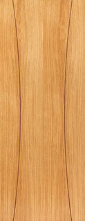 Photography of ARCOS FIRE DOOR: FD30 V-Groove *OAK Veneer* 44mm Internal Fire Door - JB Kind Elements Oak Doors