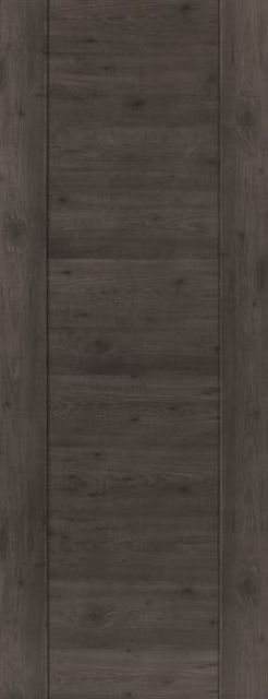 Alabama Cinza Door: Laminate Dark Grey Walnut Wood Effect 35mm Internal Pre-Finished Door - JB Kind Laminate Doors