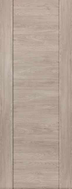 Alabama Fumo Door: Laminate Smoky Grey Wood Effect 35mm Internal Pre-Finished Door - JB Kind Laminate Doors
