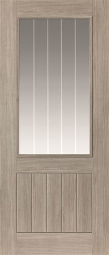 Colorado Glazed Laminate Door
