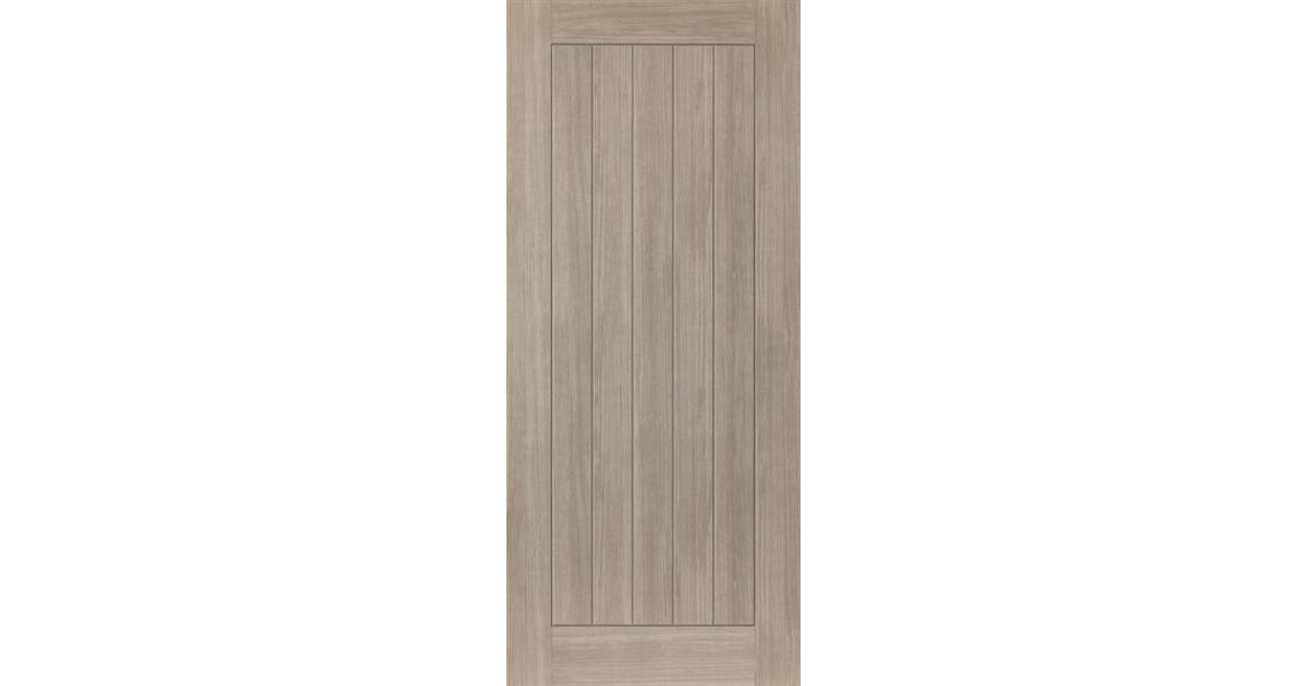 Colorado Door: Laminate Grey Coloured Wood Effect 35mm Internal Pre-Finished Door - JB Kind Laminate Doors