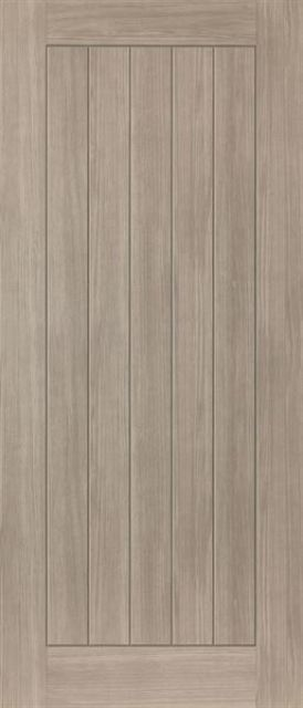 Colorado Fire Door: FD30 Grey-Coloured Wood-Effect 44mm Internal Pre-Finished Firecheck - JB Kind Laminate Fire Doors