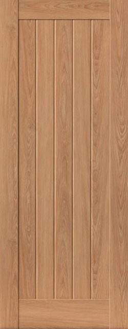 Hudson Door: Laminate Oak Coloured Wood Effect 35mm Internal Pre-Finished Door - JB Kind Laminate Doors