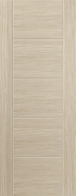 IVORY DOOR: Laminate Ivory Coloured Wood Effect 35mm Internal Pre-Finished Door - JB Kind Doors