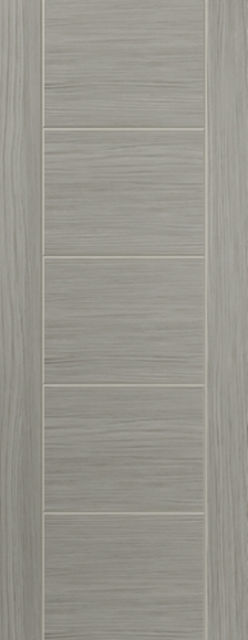 Lava Fire Door: FD30 Grey Coloured Wood Effect 44mm Internal Pre-Finished Fire Door - JB Kind Laminate Fire Doors