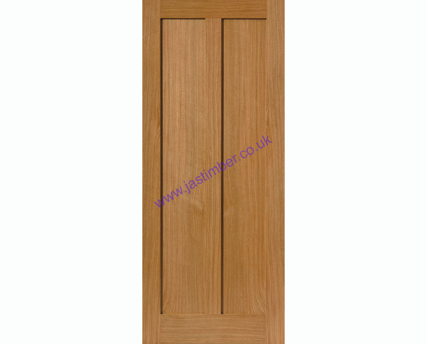 Eiger 2-Panel Oak Internal Door - JB Kind Door