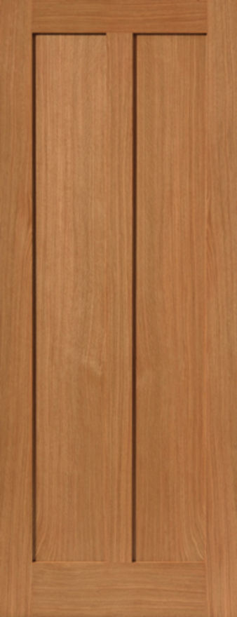 Eiger 2-Panel Oak Internal Door