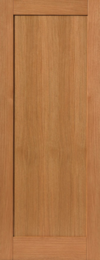 Etna 1-Panel Oak Internal Door