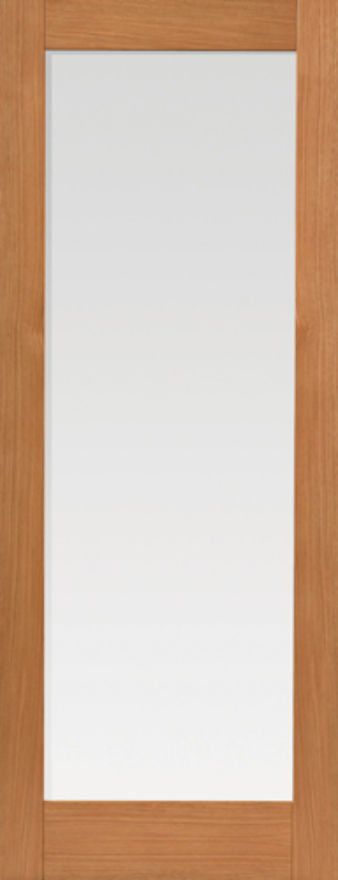Fuji 1-light Glazed Oak Internal Door
