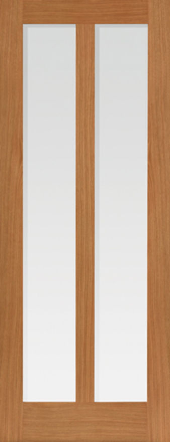 Matterhorn 2-light Glazed Oak Internal Door