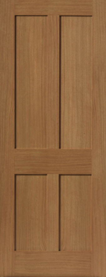 Rushmore 4-Panel Oak Internal Door