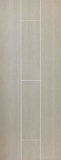 Viridis Fire Door: FD30 Flush Creamy Green 44mm Internal Fire Door - JB Kind Painted Finish Doors