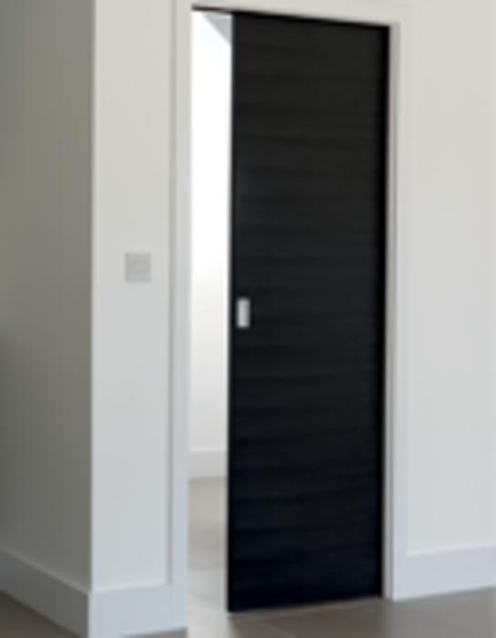 the pre assembled sliding pocket door system