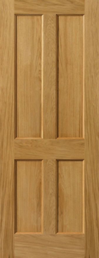 Derwent 4-Panel Oak Internal Door