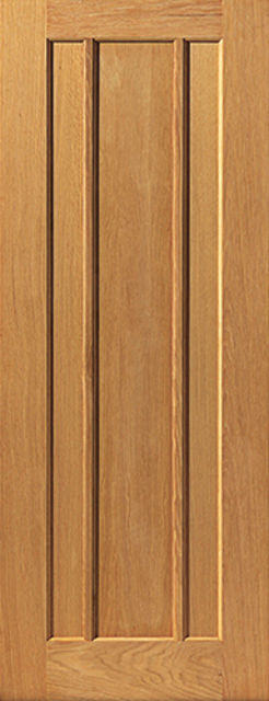 Eden Door: 3-Panel *Oak* 35mm Internal Door - JB Kind Oak Classic Doors