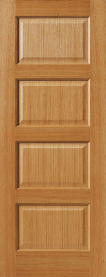 Mersey 4-Panel Oak Internal Door