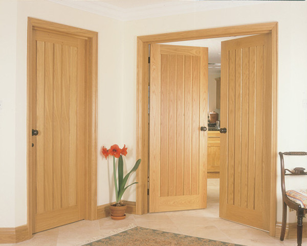 Yoxall Oak Internal Door · River Oak Yoxall Door - JBK set[1] & Yoxall Oak Internal JB Kind Door