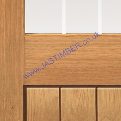 Thames Half Light Glazed Oak Internal Jb Kind Door