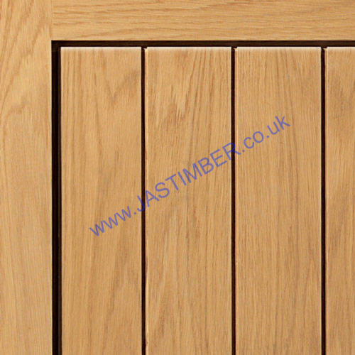 Thames II Oak Door Panel - JBK