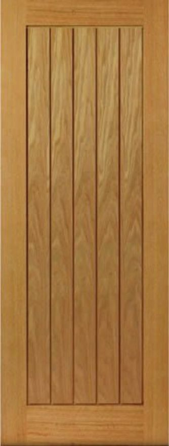JBK Thames T&G-style Oak 35mm Int. Door