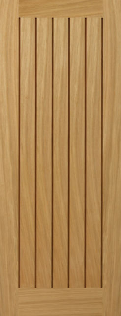 YOXALL DOOR: T&G *Unfinished OAK* 35mm Internal Door - JB Kind Doors