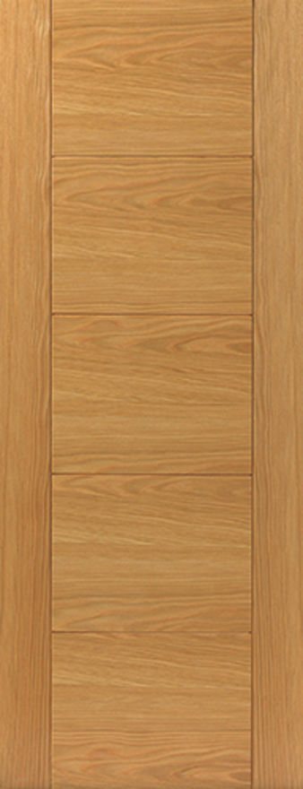 JBK Tigris V-Groove PF-Oak 35mm Internal Door
