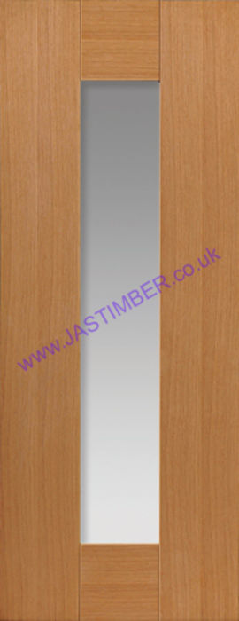 Axis Glazed Oak Internal Door