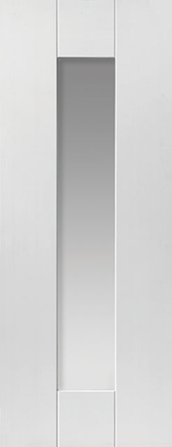 Axis Glazed Door: 1-light Glazed White Primed 35mm Internal Door - JB Kind White Shaker Doors
