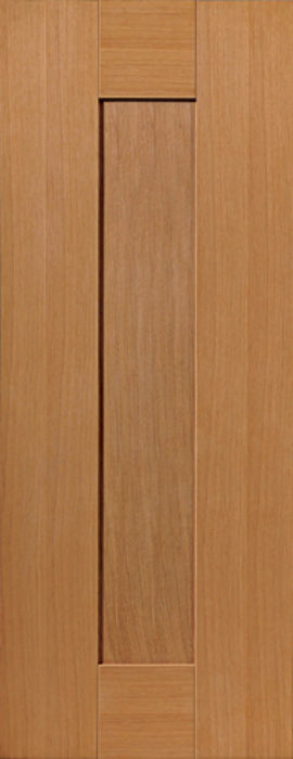 JBK Axis 1-Panel PF Oak Int. Door