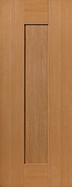 Axis Door: 1-Panel Oak 35mm Internal Door - JB Kind Oak Shaker Doors