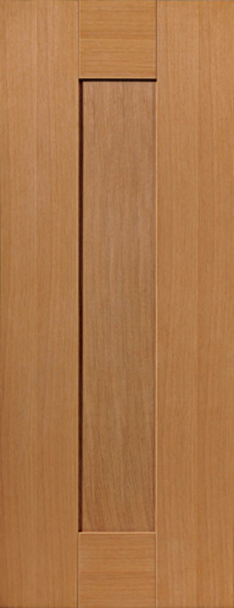 Axis 1-Panel Oak Internal Door