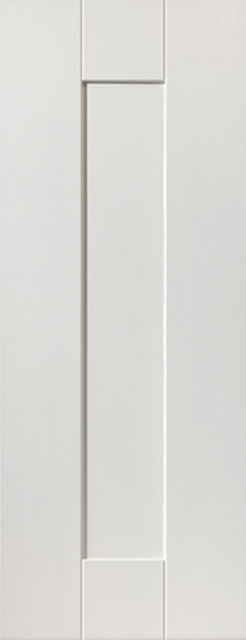Axis Door: 1-Panel White Primed 35mm Internal Door - JB Kind White Shaker Doors