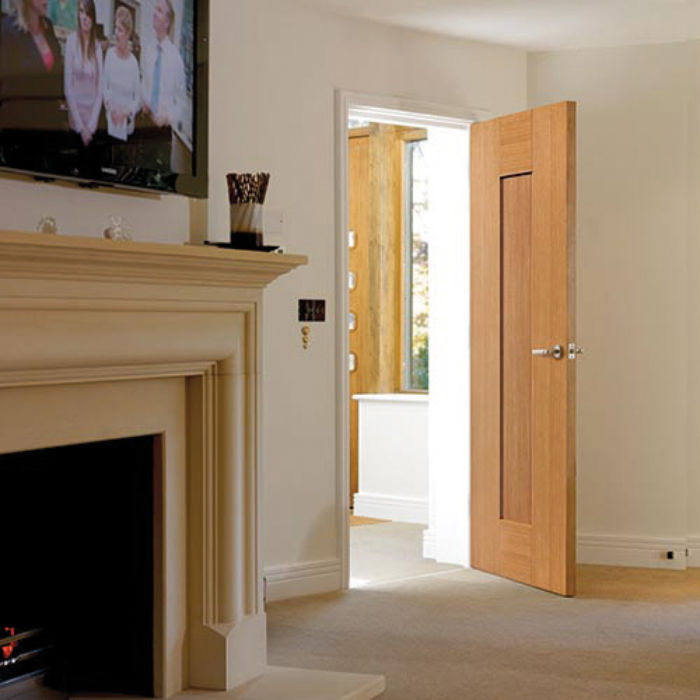 JBK Symmetry Oak Axis Door setting