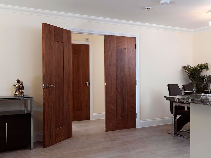 JBK Symmetry Walnut Axis Door Setting - offer