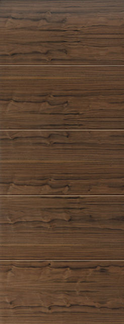 Lara Fire Door: FD30 Flush *Walnut Veneer* 44mm Internal Pre-Finished Fire Door - JB Kind Walnut Doors