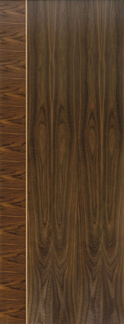 Mayette Fire Door: FD30 Flush *Walnut Veneer* 44mm Internal Pre-Finished Door - JB Kind Walnut Fire Doors